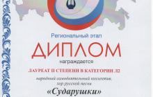 всероссийский хоровой фестиваль Л2 2018